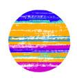 modern circle geometric shape vector image vector image