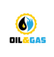oil and gas industry iluustration vector image vector image