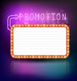 Retro vintage frame banner promotion vector image vector image