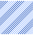 Seamless pattern Diagonal blue stripes vector image vector image