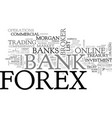 a comprehensive forex broker register text word vector image vector image