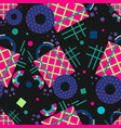 abstract seamless pattern geometric composition vector image