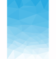 Blue sky portrait vector image vector image