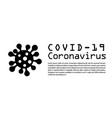 coronavirus 2019-ncov infographic corona virus 3d vector image