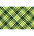 Green avocado tartan fabric seamless texture vector image vector image
