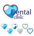 image of dental clinic vector image