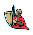 medieval king regnant mascot vector image vector image