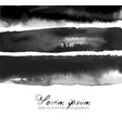 abstract ink wash paiting hand drawn with ink on vector image vector image