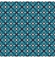Blue color geometric seamless pattern vector image