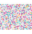 colorful circles seamless vector image vector image