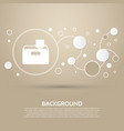 download to hdd icon on a brown background with vector image
