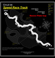 eaglesong highway speed track black vector image vector image