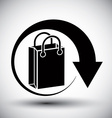 Shopping bag delivery simple single color icon
