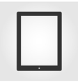 Tablet pc computer icon flat design vector image vector image
