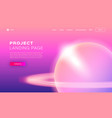 trend gradient design for app development web vector image
