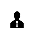 Businessman Icon Flat vector image