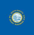 flag usa state south dakota vector image vector image