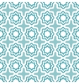 geometric floral seamless pattern vector image vector image