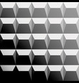 gray pattern with triangles and trapezes vector image vector image