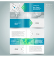 booklet template design brochure arrow line vector image vector image