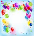 bright happy holiday vector image vector image