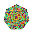 colorful geometrical isolated abstract tiled vector image vector image