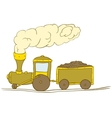 Cute Train vector image