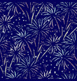 firework seamless background glitter foil vector image vector image