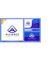 letter a alliance logo design