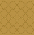 seamless gold background pattern vector image vector image