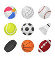ball games sports kids ball volleyball baseball vector image