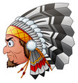 Cartoon indian chief