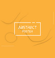 colorful abstract poster background eps10 vector image vector image