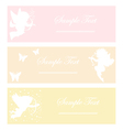 cupid soft color vector image vector image