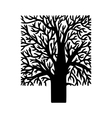 figure tree vector image vector image