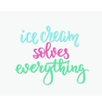 Ice cream shop promotion advertising vector image vector image