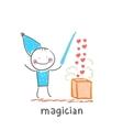 magician vector image vector image