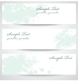 Set abstract banners vector image vector image