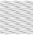 Wavy repeating dots pattern Seamless vector image