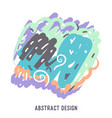 abstract colorful background with vector image