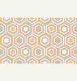 abstract geometry in retro colors geometric vector image