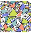 Abstract seamless pattern Colorful doodle vector image