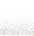 binary code internet security concept vector image vector image