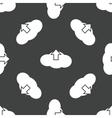 Cloud upload pattern vector image vector image