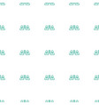 communication icon pattern seamless white vector image vector image