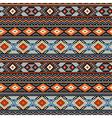 Ethnic ornament blue vector image