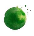 green blot vector image vector image