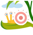 Numbers game for children snail