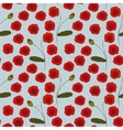 Seamless Pattern with Poppies Flowers and vector image vector image