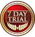 Seven day trial icon
